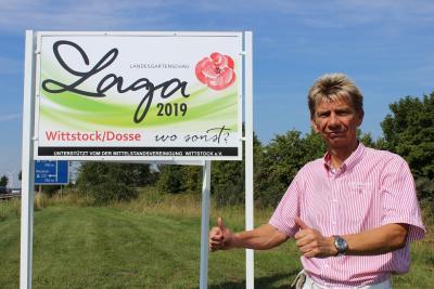 Foto zur Meldung: Mittelstandsverein unterstützt Wittstocker Laga-Bewerbung
