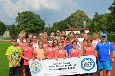 Foto zu Meldung: Gutes Trainingslager mit motivierten jungen Athleten
