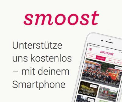 Foto zur Meldung: Smoost: unsere neue Spenden-App