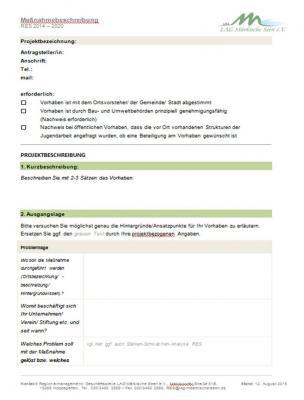 Foto zur Meldung: LAG Märkische Seen: Nächstes Projektauswahlverfahren im Oktober