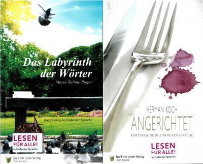 Foto zu Meldung: Stadtbibliothek bietet neue Buchreihe in einfacher Sprache an