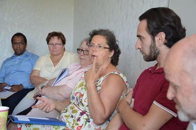 Foto zur Meldung: Bereich Asyl: Sozial-Staatssekretärin würdigt Engagement in OSL