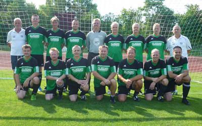 Foto zur Meldung: Platz 3 für den SV Braunsbedra bei der Ü40-NOFV-Meisterschaft