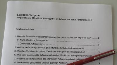 Foto zur Meldung: Auftragsberatungsstelle Brandenburg unterstützt ELER - Zuwendungsempfänger
