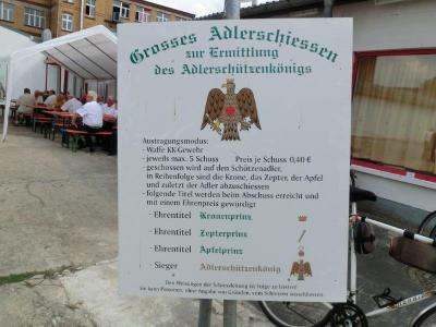 Foto zur Meldung: Schützenfest Luckenwalde