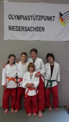 Foto zur Meldung: Hemminger Judo-Talente im Olympiastützpunkt Niedersachsen
