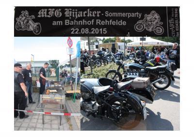 Foto zu Meldung: Hijacker Sommerparty am Bahnhof Rehfelde