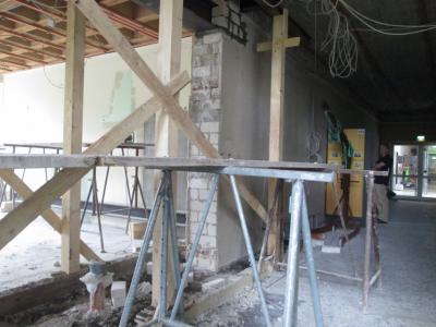 Vorschaubild zur Meldung: Umbaumaßnahmen in der Schule