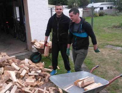 Foto zur Meldung: Holzaktion