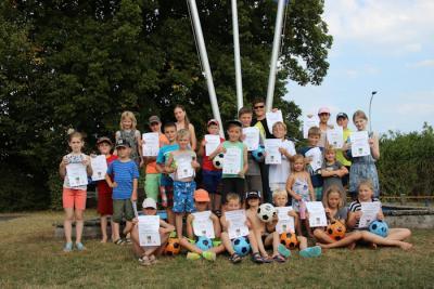 Foto zur Meldung: Bouletournier für Kinder und anschl. Grillabend ein voller Erfolg