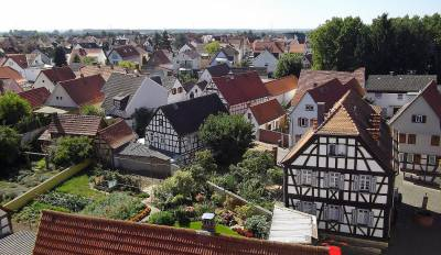 Foto zur Meldung: Audioguide: Rundgang durch den historischen Ortskern von Nauheim