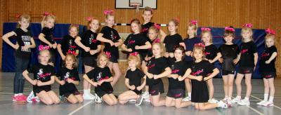 Foto zur Meldung: Cheerleader Lil Butterflies