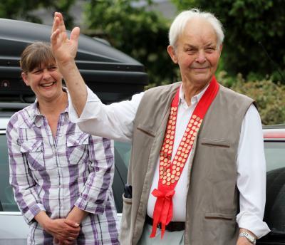 Foto zu Meldung: Heinz Kasch wird 90!