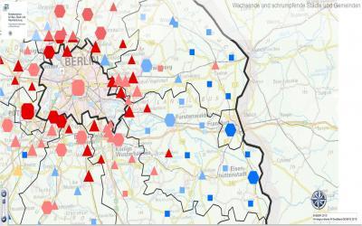 Foto zur Meldung: Neue Studie: Unterschiede zwischen Stadt und Land vergrößern sich