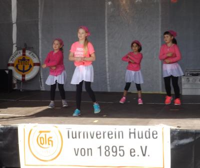 Foto zu Meldung: TV Hude zeigt beim Bürgerfest mit Sportschau Präsenz