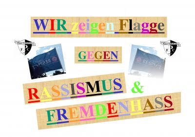 Foto zur Meldung: WIR ZEIGEN FLAGGE gegen...