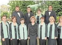 Foto zur Meldung: Russischer Chor singt in Kirchen
