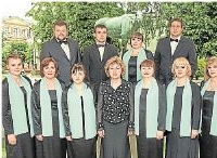 Foto zu Meldung: Russischer Chor singt in Kirchen