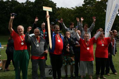 Foto zur Meldung: 21. Sportfest für Menschen mit Behinderung