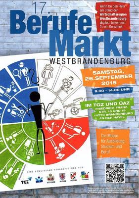 Foto zur Meldung: 17. Berufemarkt Westbrandenburg