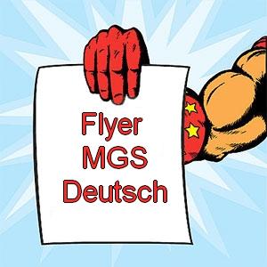 Flyer der Märkischen Grundschule