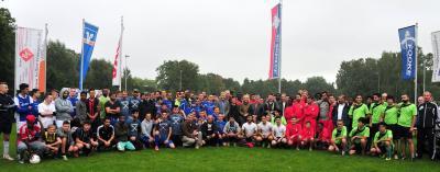 Foto zur Meldung: News von der 9. Borkener Fussball WM 2015