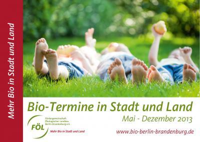 """Foto zur Meldung: Hier können Sie was erleben: Ausflugsplaner """"Bio-Termine in Stadt und Land"""" erschienen (FÖL)"""