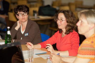 """Foto zur Meldung: """"Nicht ohne uns, über uns"""": Diskussion mit Ortspolitikern zur Gründung eines Behindertenbeirats"""