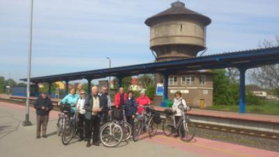 Foto zur Meldung: Fahrradtour durch das Warthebruch