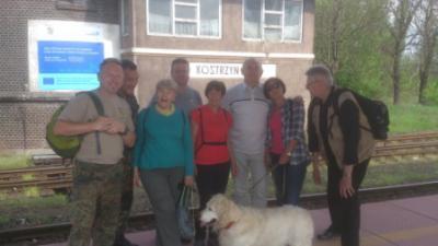 Foto zur Meldung: 11. Weltwandertag in Kostrzyn