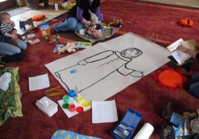 Foto zur Meldung: Eltern-Kind-Kreis im Begegnungszentrum (Krabbelkreis)