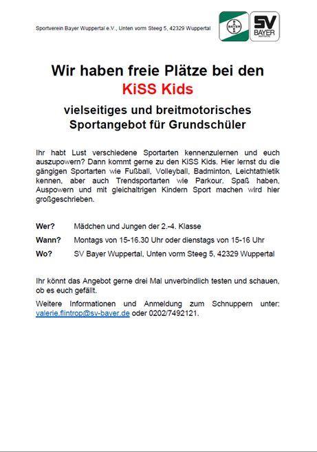 KiSS Kids Sportangebot