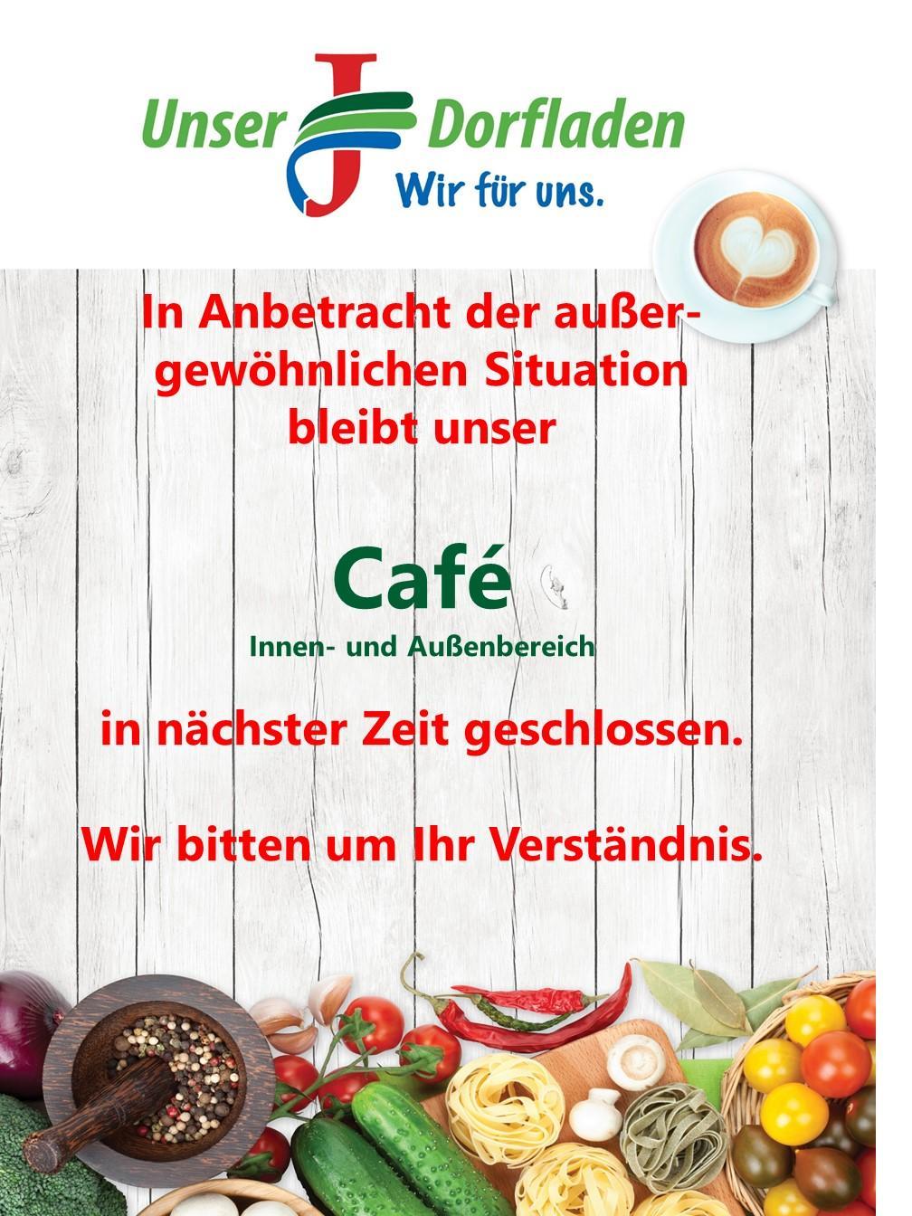 Cafe geschlossen