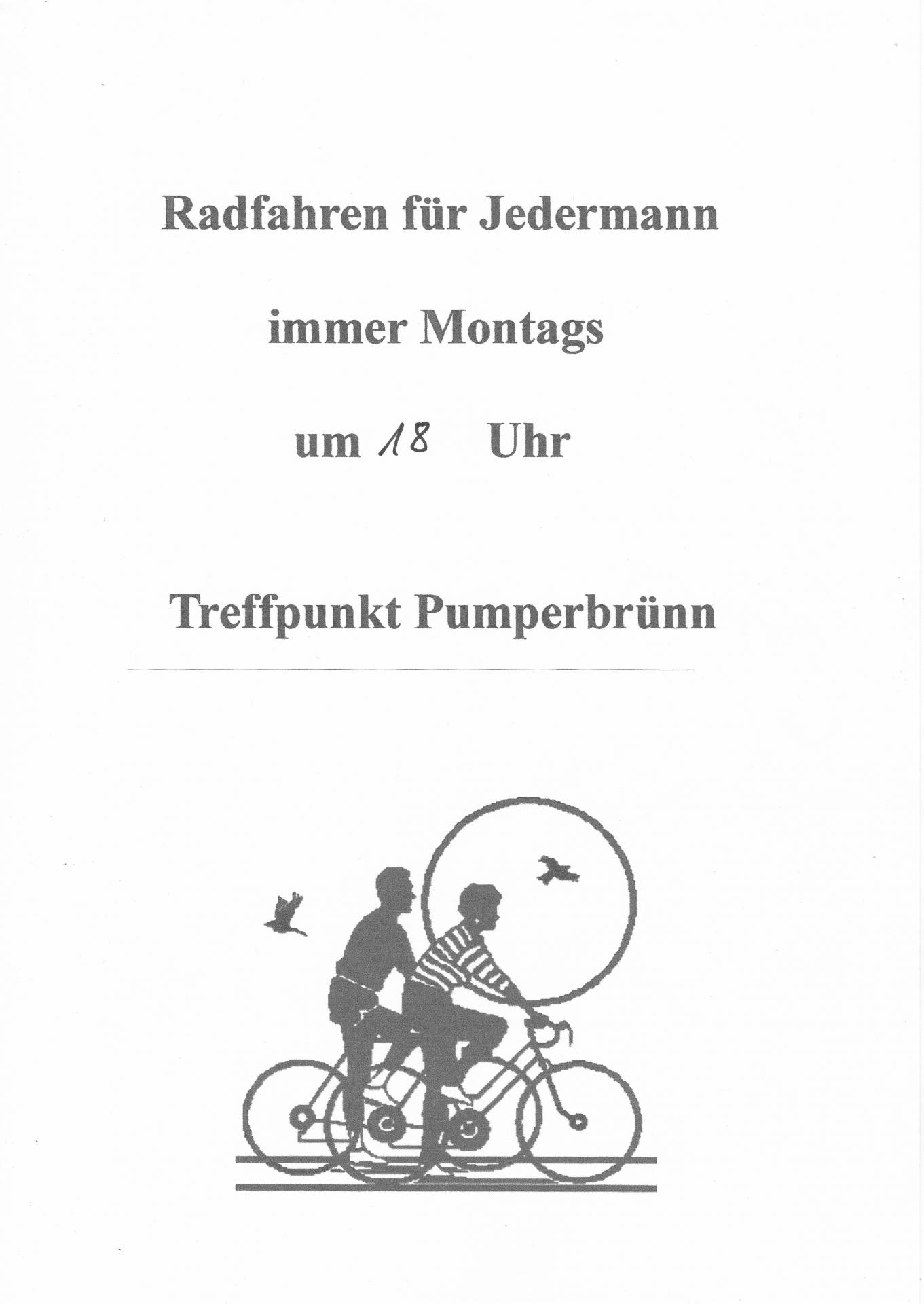 Radfahren für Jedermann
