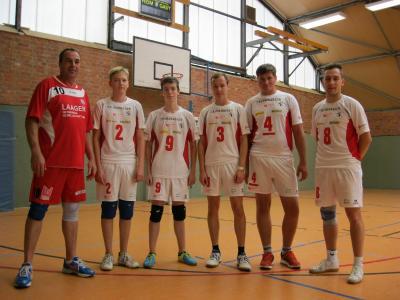 Foto zur Meldung: Liga-Start der Laager Volleyballer ging daneben