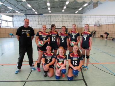 Foto zur Meldung: Laager Damen im Liga-Spielbetrieb