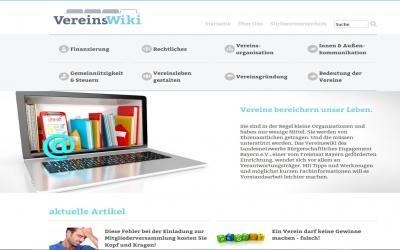 Foto zur Meldung: Ehrenamt: Vereinswiki freigeschaltet