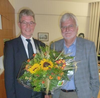 Foto zu Meldung: Klaus Wenzel 20 Jahre Bürgermeister in Grafhorst