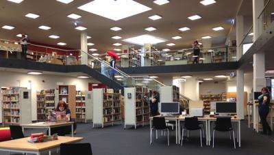 Foto zu Meldung: Stadtbibliothek bedankt sich bei ihren fleißigsten Lesern