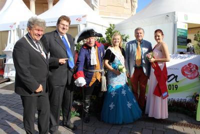 Foto zur Meldung: Laga-Botschafter in Potsdam