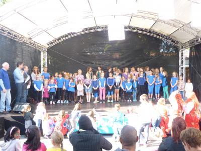 Foto zur Meldung: Sportlerehrung beim Kinder- und Jugendfest