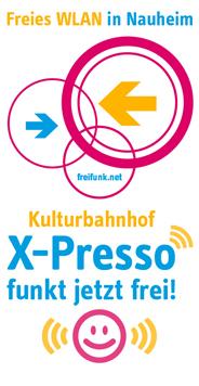 Foto zur Meldung: Erster öffentlicher Freifunk-Hot-Spot am und im Kulturbahnhof X-Presso