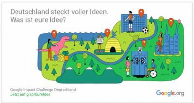 Foto zur Meldung: Google Impact Challenge: Ausbau digitaler Dienste in der Freiwilligenarbeit