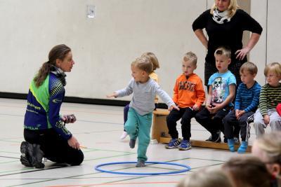 Vorschaubild zur Meldung: Viel Sport und viel Spaß: Kita-Olympiade in Jüterbog