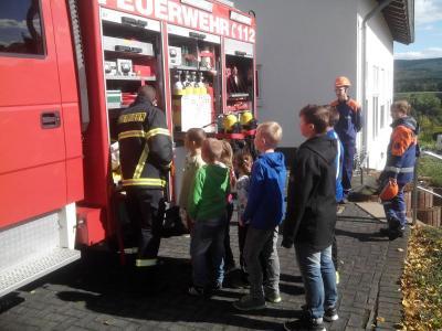 Foto zu Meldung: Rückblick Schnuppertag Jugendfeuerwehr Argenthal/Riesweiler