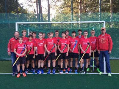 Foto zur Meldung: Hockey: Endrunde Berliner Meisterschaft der MJB