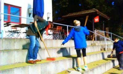 Foto zur Meldung: Hockey: Friedaeinsatz, der Zweite
