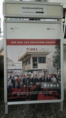 """Foto zu Meldung: Sonderausstellung """"Der Weg zur deutschen Einheit"""""""