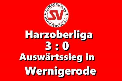 Foto zu Meldung: Harzoberliga: 3:0 Auswärtssieg in Wernigerode