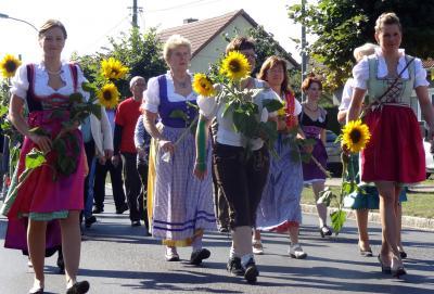 Foto zur Meldung: Zinndorfer feiern Oktoberfest